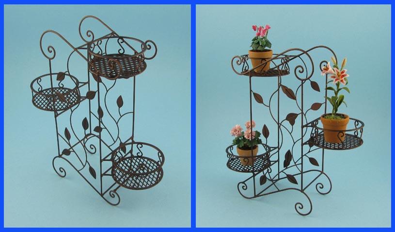 Le mini di pierluigi accessori giardino garden tools - Porta vasi in ferro battuto ...